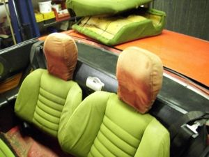 headrest red